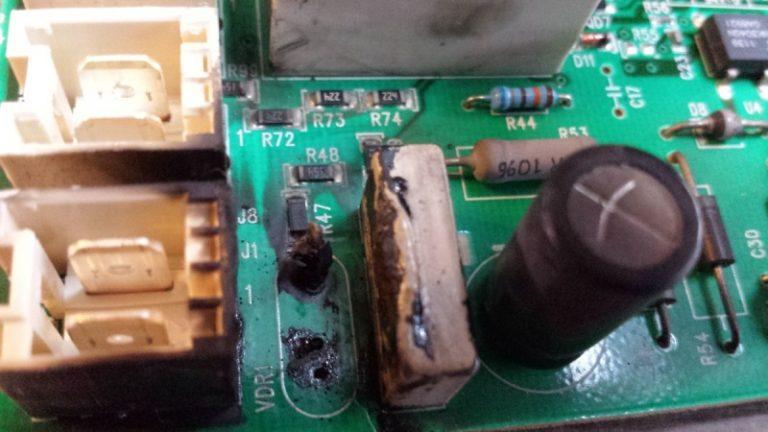reparation-electroniquecom_amplificateur-brule